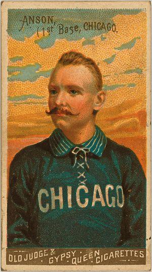 Cap Anson baseball card (N162)