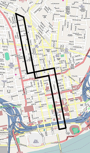 Phase I of the proposed Cincinnati Streetcar r...