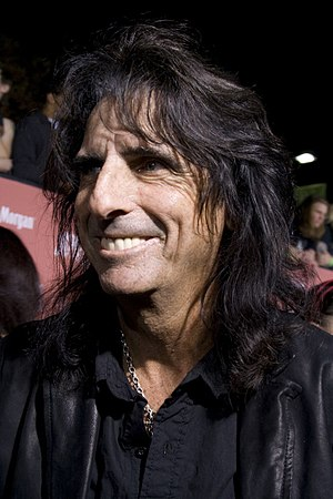 Alice Cooper, American rock singer. Taken at t...