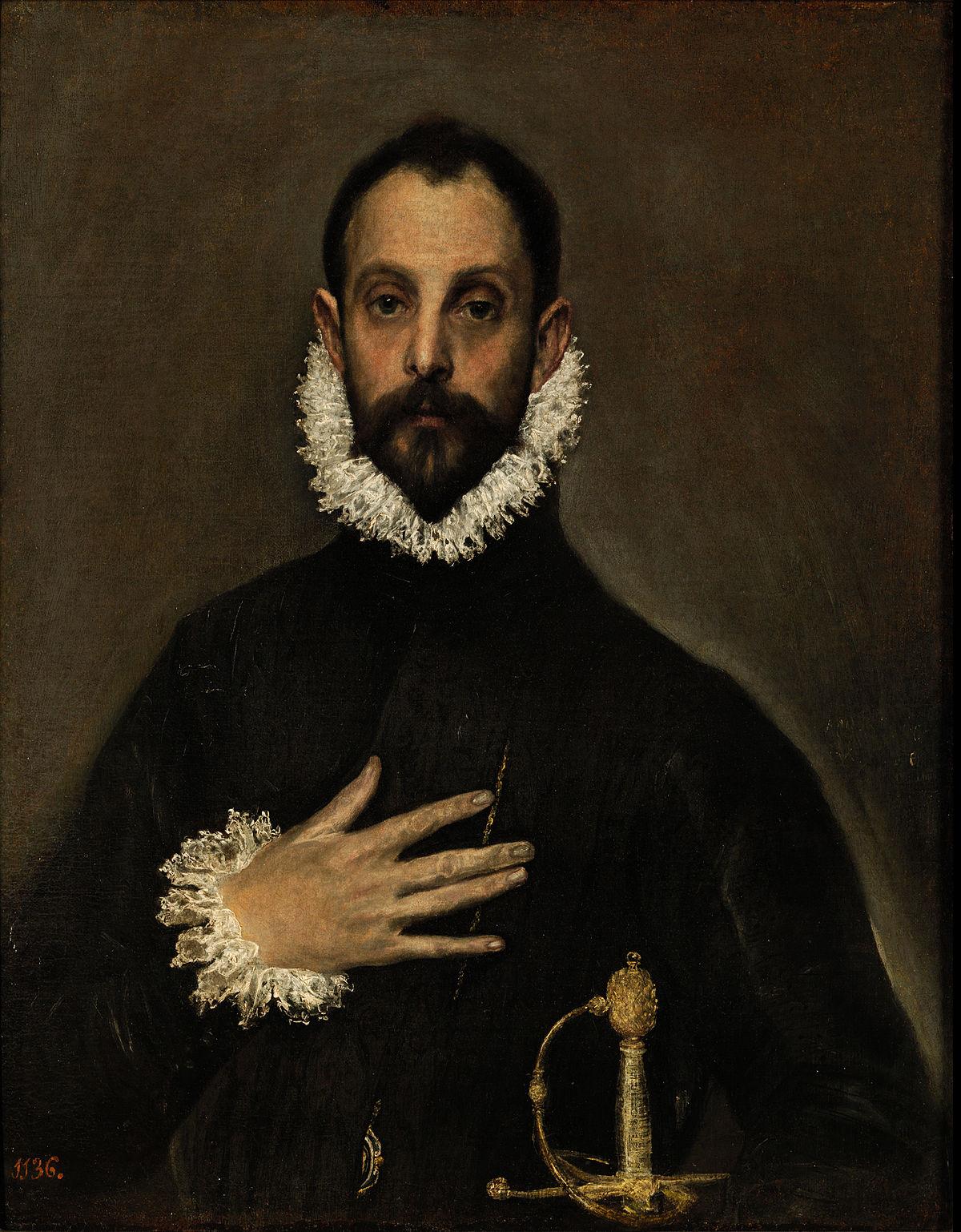 El caballero de la mano en el pecho  Wikipedia la enciclopedia libre