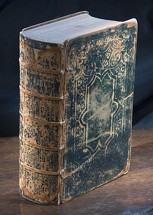 A bible from 1859.