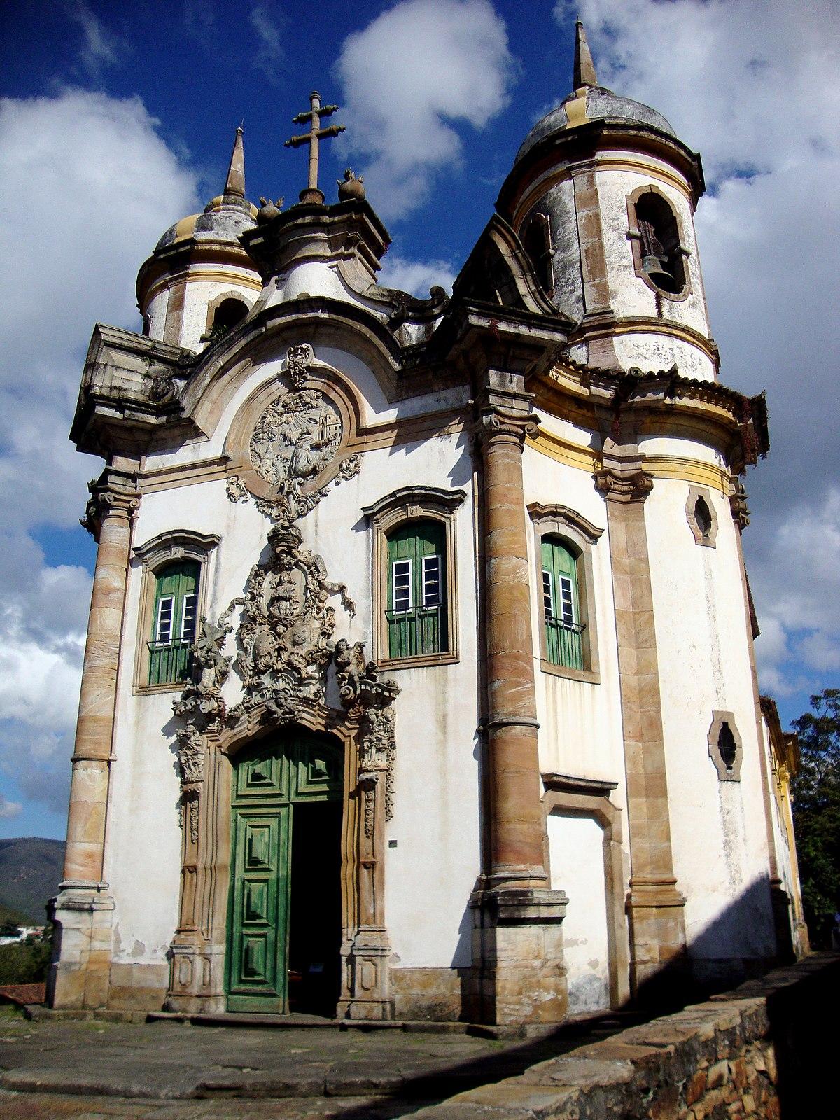 Church of Saint Francis of Assisi Ouro Preto  Wikipedia