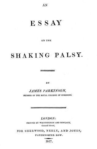 """Bildergebnis für """"An essay on the shaking palsy"""""""