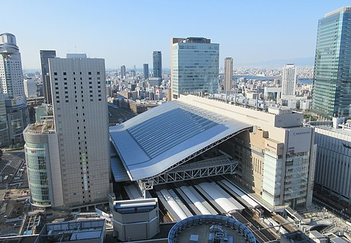JR Osaka Station 20151226