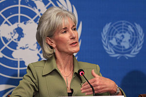 English: Kathleen Sebelius, Secretary of Healt...