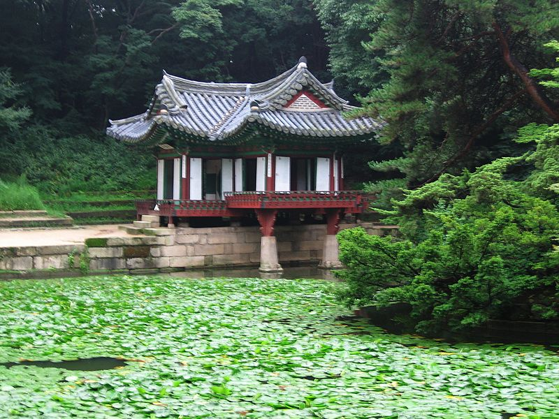 File:Korea-Seoul-Changdeokgung-Huwon-Buyongjeong and Buyeongju-01.jpg