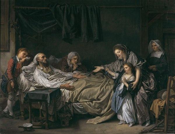 Lady Giving Charity - Wikipedia