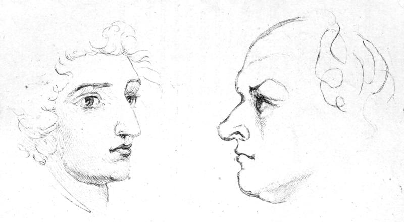 File:Life of William Blake (1880), volume 1, facing page