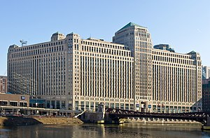 Merchandise Mart, Chicago, Illinois. Designed ...