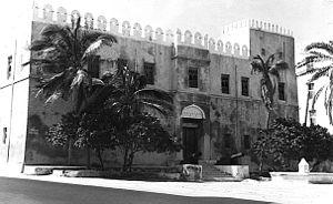 Old fort, used as museum, Mogadishu