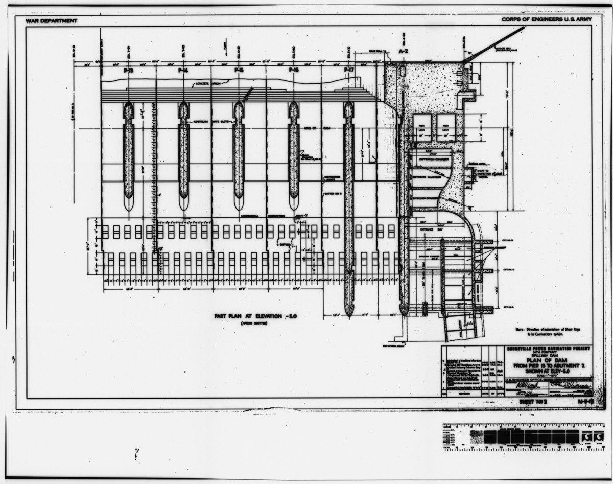 File Photocopy Of Original Construction Drawing 29 May