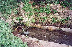 A Shipot is a clean water source in many villa...