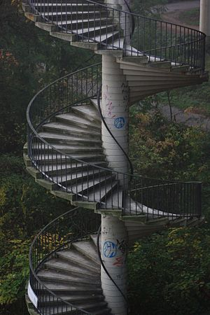 count the stairs.:-)