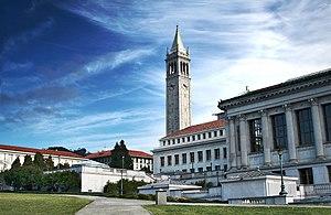 English: Campus of the UC Berkeley in Berkeley...