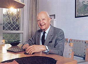 English: Witold Lutosławski, Polish composer