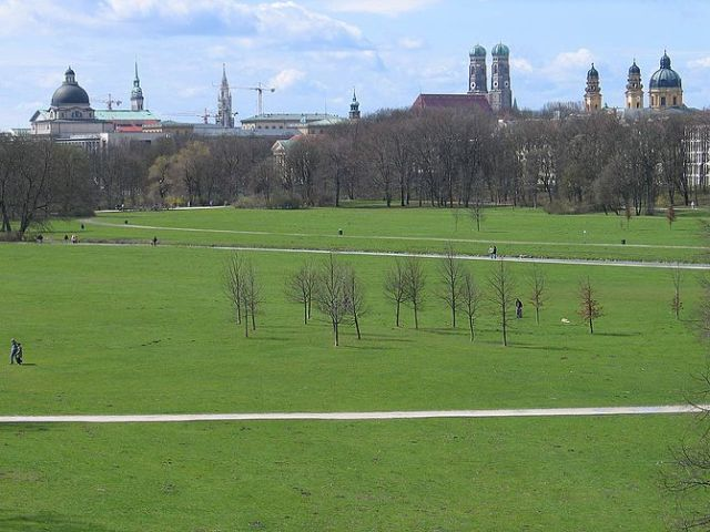 Munich: View from the Englischer Garten