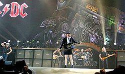 AC/DC im Jahr 2008