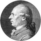 An image of Philidor, who published rules in 1749