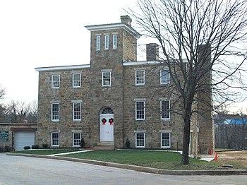 English: Baltimore County Jail, December 2009
