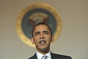 President Barack Obama delivers remarks about ...