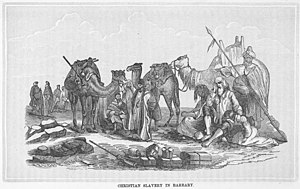 English: Christian slavery in Barbary - The hi...
