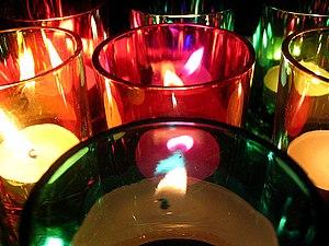 Christmas 2005 Candles