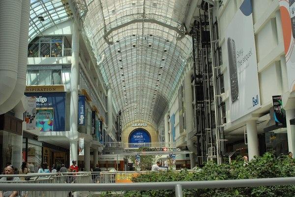 Toronto Eaton Centre Shopping Mall