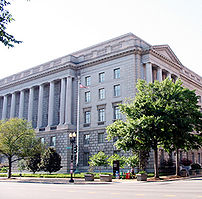 IRS building on Constitution Avenue in Washington, D.C..