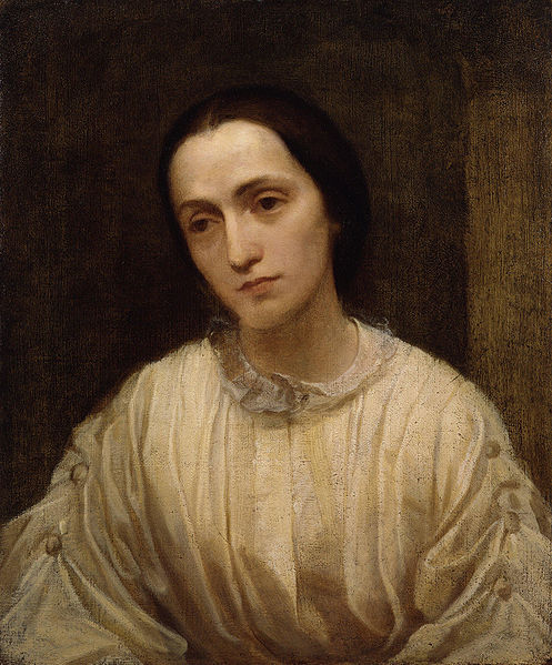 Bestand:Julia Margaret Cameron by George Frederic Watts.jpg