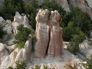List of rock formations in Bulgaria
