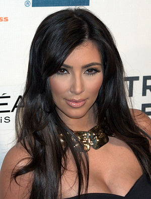 English: Kim Kardashian at the 2009 Tribeca Fi...