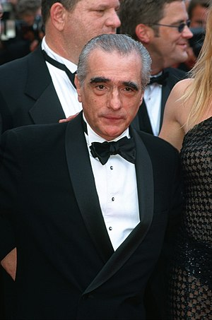 English: Martin Scorsese at Cannes in 2002. My...