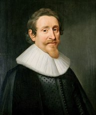 Hugo Grotius - Portrait by Michiel Jansz van M...