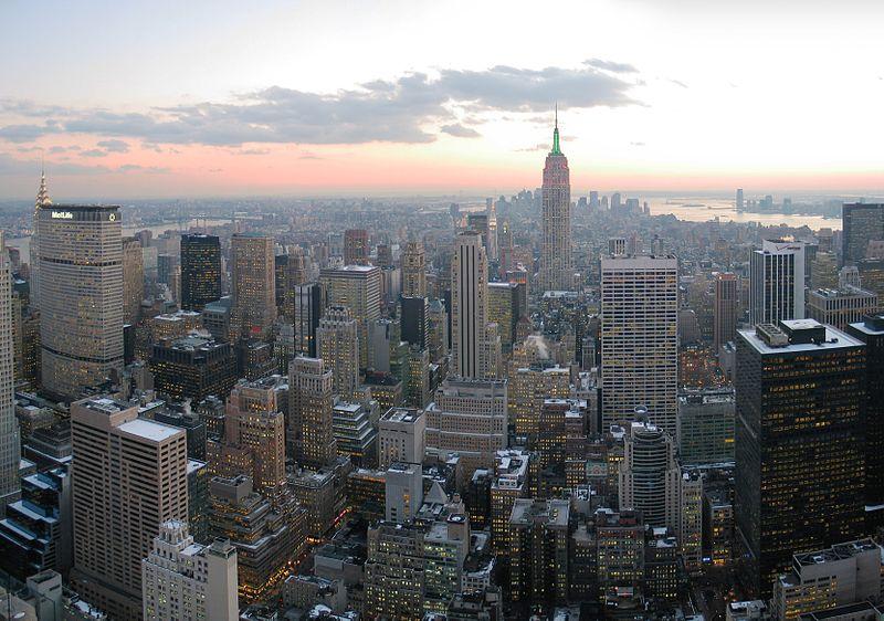 ملف:NYC wideangle south from Top of the Rock.jpg