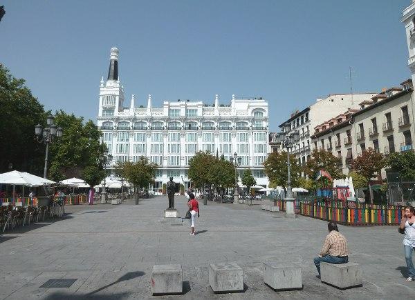 Plaza De Santa Ana Madrid - Wikipedia La Enciclopedia Libre
