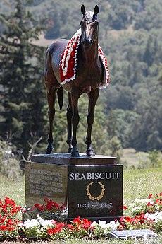 Cavalli famosi seabiscuit il fiero equino for Rimodernato ranch di entrata del ranch