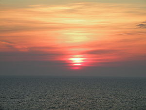 Sunrise over the Black Sea
