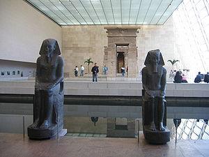 Temple de Dendur, Metropolitan Museum of Art, ...