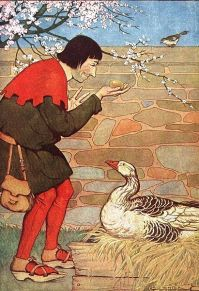 The man with the goose that laid golden eggs