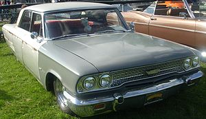 1963 Ford Galaxie photographed at the Rassembl...