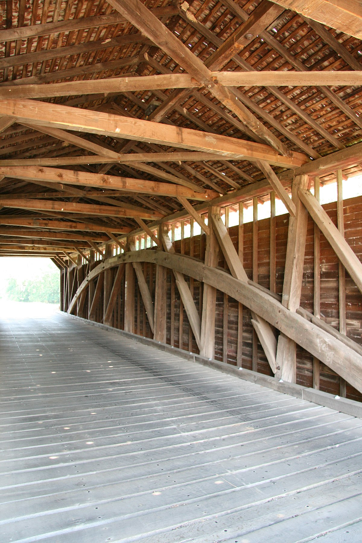 Utica Covered Bridge Wikipedia