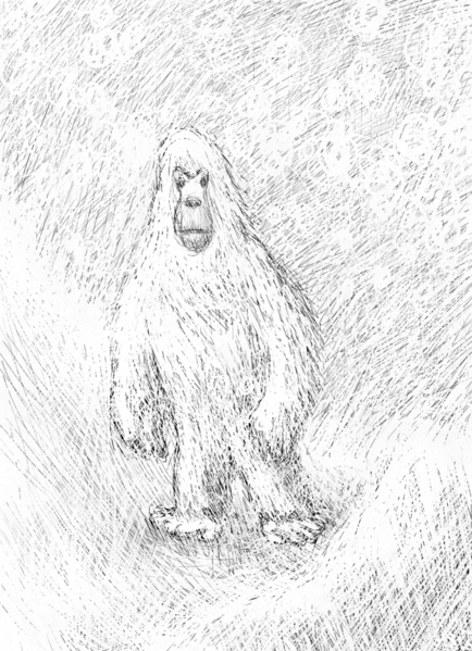 Artists rendering of the Yeti