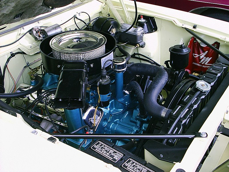 American Eagle Wiring Diagram 2007 File 1970 Amc Javelin 390 V8 Ramair Engine Bay Jpg