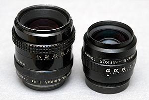 Nikon Apo-EL-NIKKOR 105mm f/5.6 & Apo-EL-NIKKO...