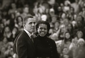 Barack Obama and Michelle Obama