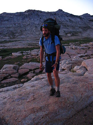 photo of Bryan Hopping in Emigrant Wilderness,...