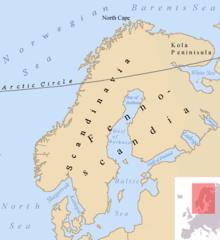 Skandinavische Halbinsel Wikipedia