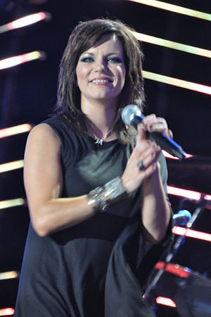 English: Martina McBride performing in June 2010