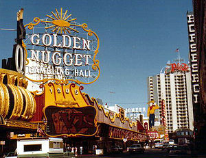 Fremont Street in Las Vegas, Nevada, United St...
