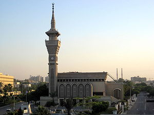 English: Mosque of Gamal Abdel Nasser in Cairo...